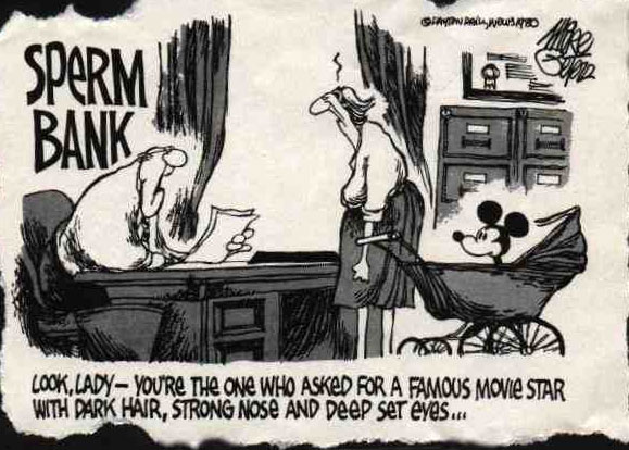BabyMiracles: Sperm bank cartoon
